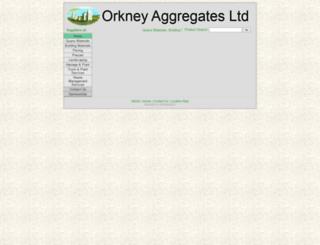 orkagg.co.uk screenshot