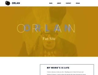 orlan.net screenshot
