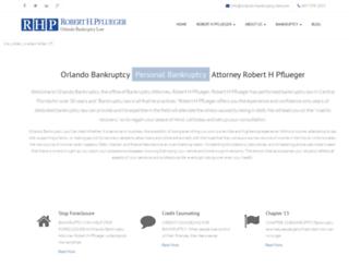 orlando-bankruptcy-law.com screenshot