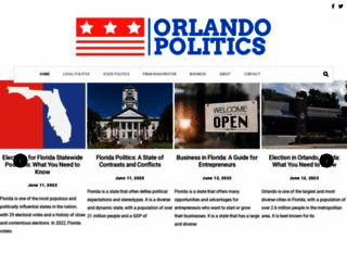 orlando-politics.com screenshot