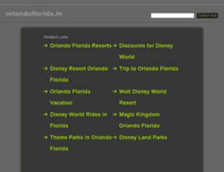 orlandoflorida.in screenshot