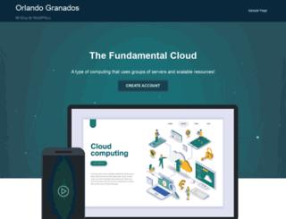 orlandogranados.com screenshot