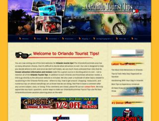 orlandotouristtips.com screenshot