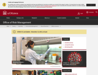 orm.uottawa.ca screenshot