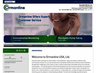 ormantineusa.com screenshot