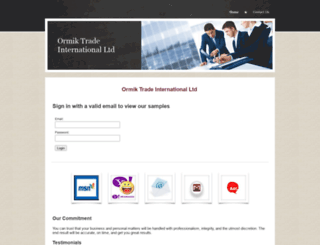 ormiktrade.yolasite.com screenshot