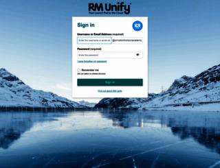 ormistonhorizonacademy.rmunify.com screenshot