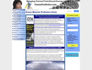 ormusprobiotics.com screenshot