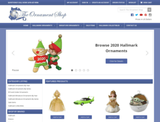 ornament-shop.com screenshot