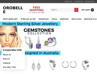 orobelle.com.au screenshot