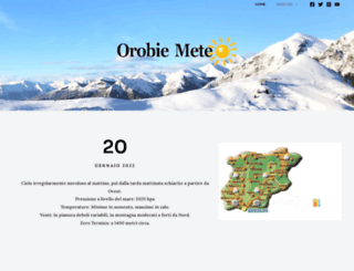 orobiemeteo.com screenshot