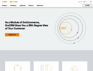 orocrm.com screenshot