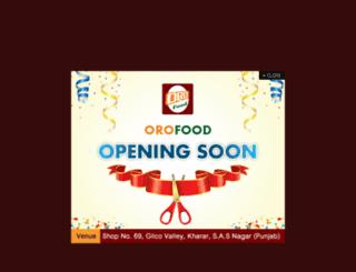 orofood.com screenshot