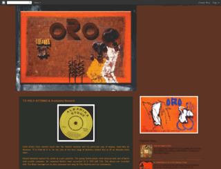orogod.blogspot.com screenshot