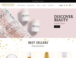 orogoldcosmetics.com screenshot