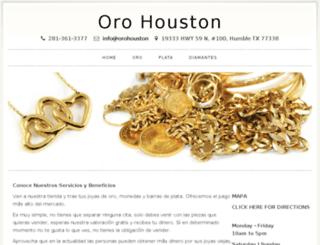 orohouston.com screenshot