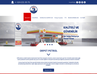 orpetpetrol.com screenshot