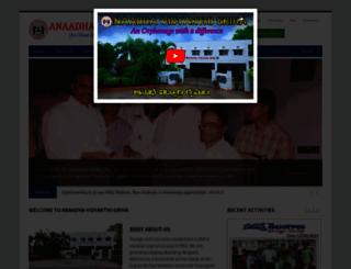 orphanage1919.org screenshot