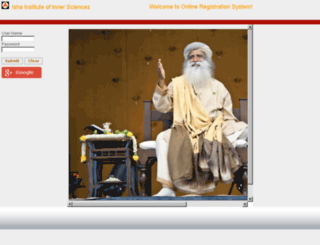 ors.ishayoga.org screenshot