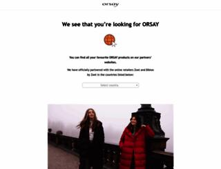 orsay.com screenshot
