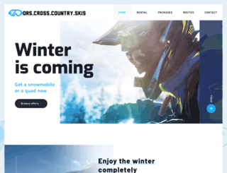 orscrosscountryskisdirect.com screenshot