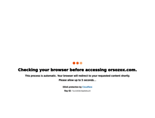 orsozox.com screenshot