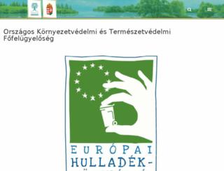 orszagoszoldhatosag.gov.hu screenshot