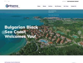 orthanna.com screenshot