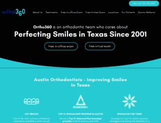 ortho360.com screenshot