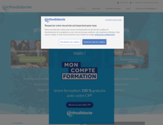 orthodidacte.com screenshot