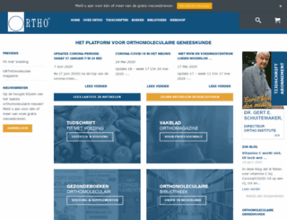 orthoeurope.com screenshot