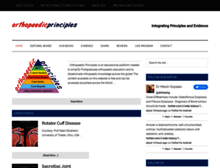 orthopaedicprinciples.com screenshot