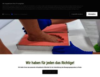 orthopaedie-gehrmann.de screenshot