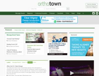 orthotown.com screenshot