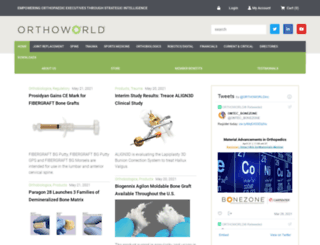 orthoworld.com screenshot
