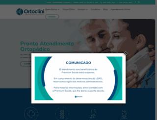 ortoclini.com.br screenshot