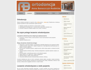 ortodonta.info screenshot