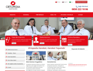 ortopedia.com.tr screenshot