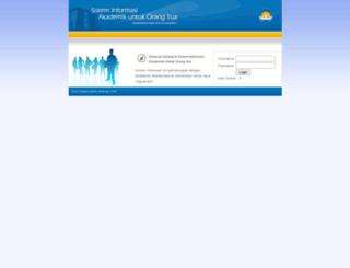 ortu.uajy.ac.id screenshot