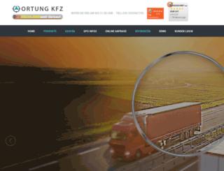 ortung-kfz.de screenshot