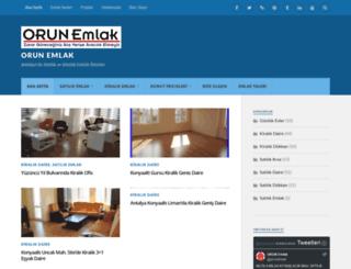 orunemlak.wordpress.com screenshot