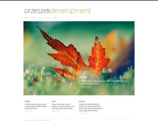 orzeszek.org screenshot