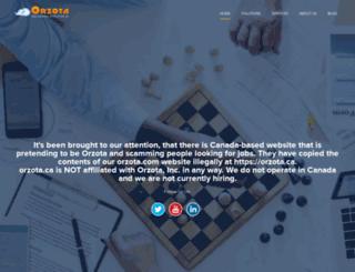 orzota.com screenshot