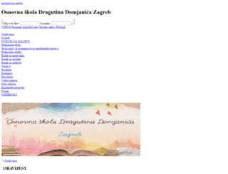 os-ddomjanica-zg.skole.hr screenshot