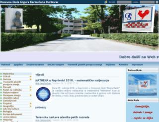 os-gkarlovcana-djurdjevac.skole.hr screenshot
