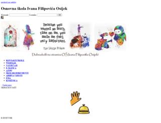 os-ifilipovica-os.skole.hr screenshot