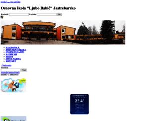 os-ljbabic-jastrebarsko.skole.hr screenshot