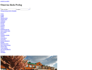 os-prelog.skole.hr screenshot