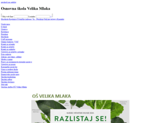 os-velika-mlaka.skole.hr screenshot