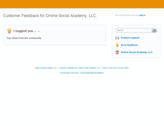 osa.uservoice.com screenshot